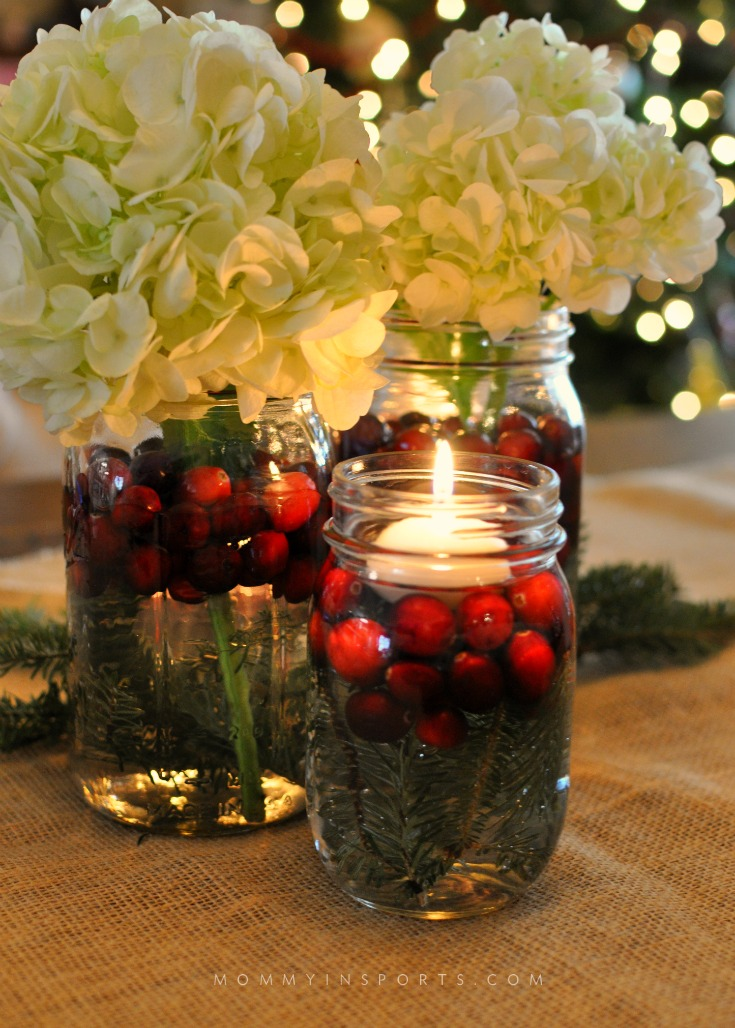 5 Simple DIY Holiday Centerpieces - Kristen Hewitt