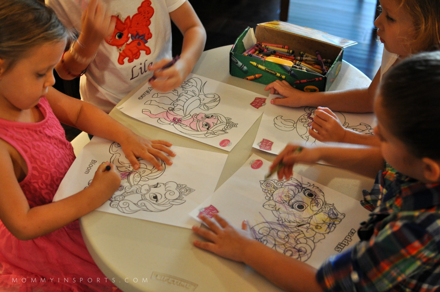 Place Pets Coloring sheets