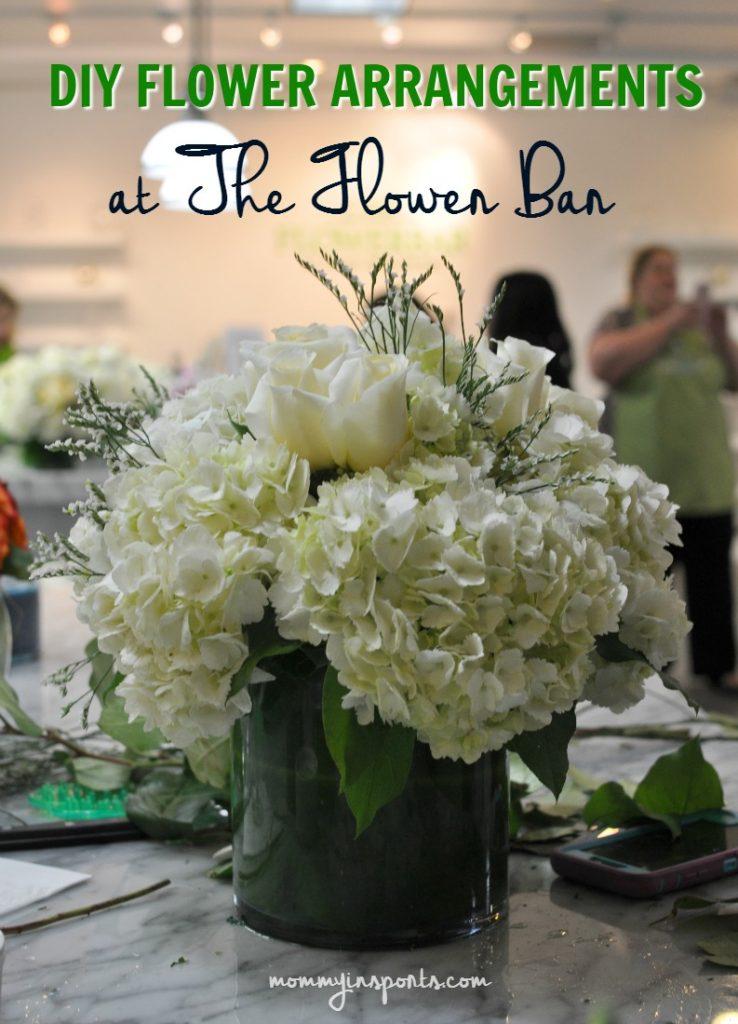 DIY Flower Arrangements at The Flower Bar