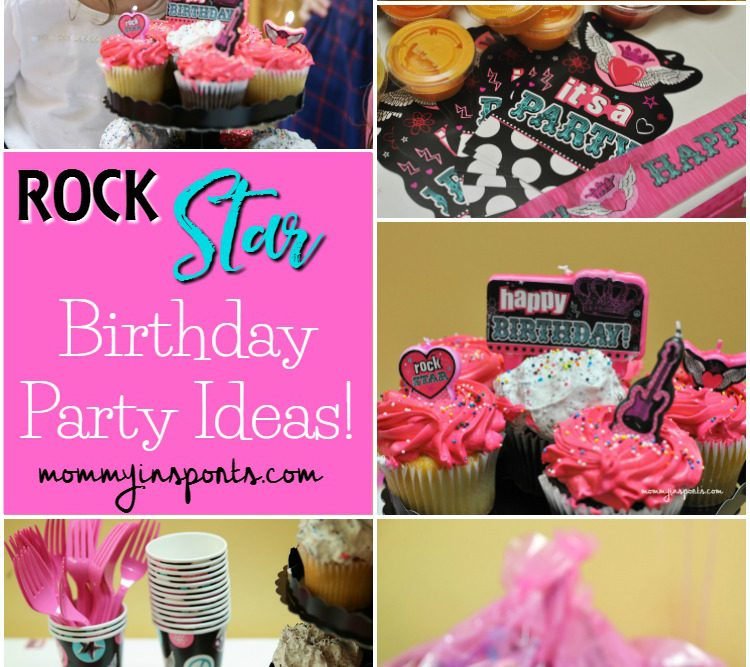Rock Star Birthday Party Ideas