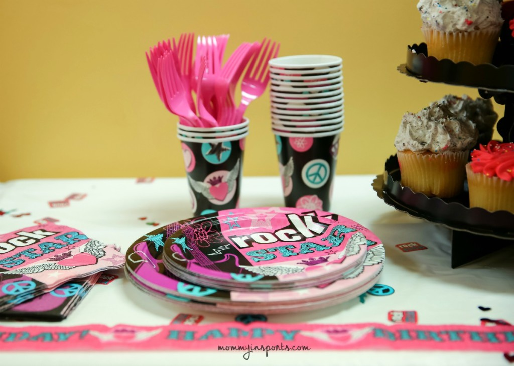 Fabulous Rock Star Birthday Party Ideas Kristen Hewitt Funny Birthday Cards Online Kookostrdamsfinfo
