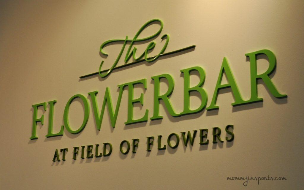 The Flowerbar sign