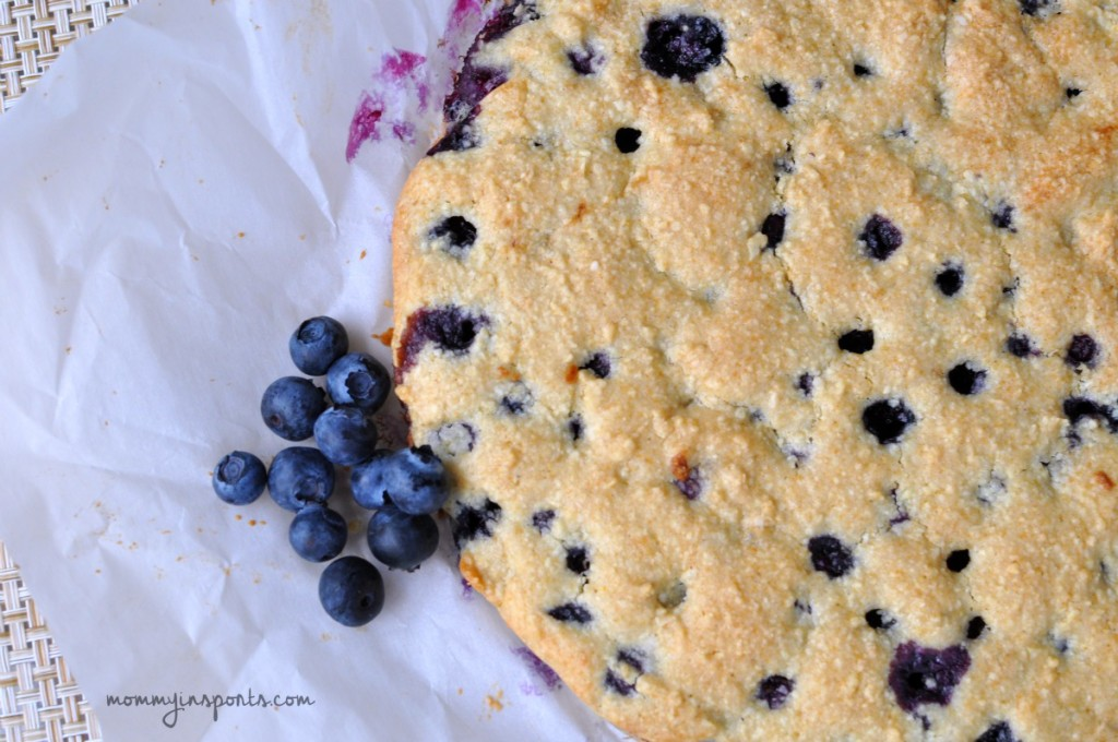 Looking for a sweet treat that's still healthy and delicious? Try this Paleo Blueberry Scone recipe...the kids love it too!