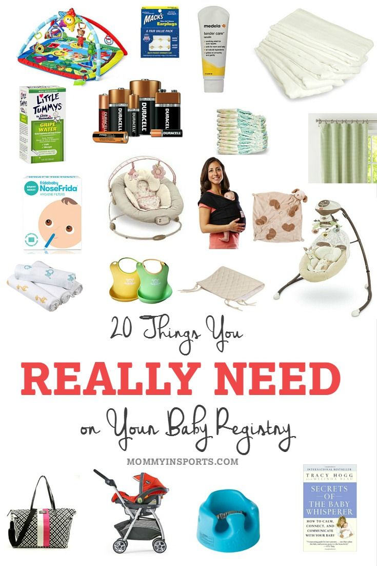 20 Things You Really Need On Your Baby Registry Kristen