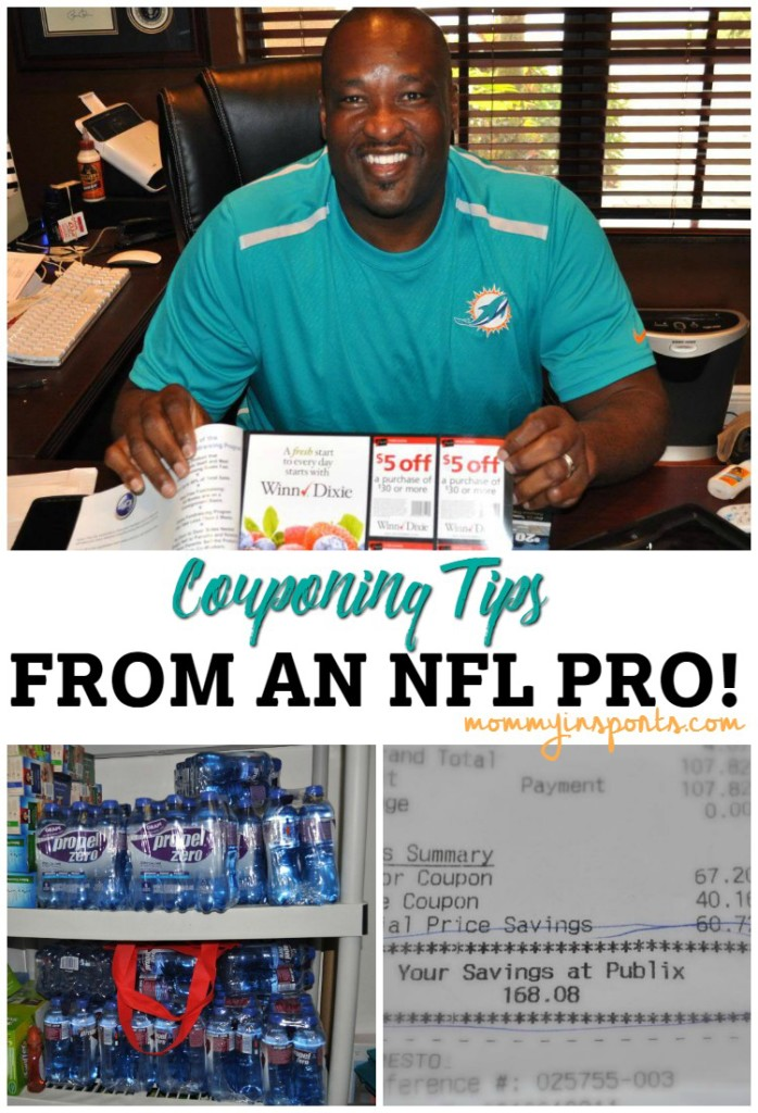 Looking for ways to save BIG at the supermarket? This former NFL star gives amazing couponing and money savings tips!