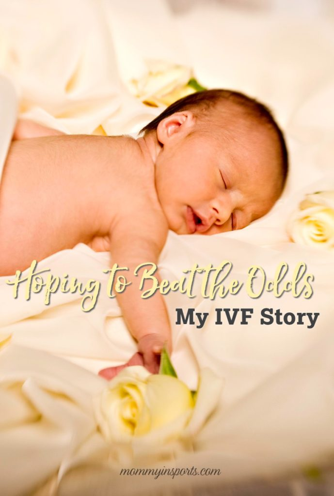 Have you struggled with years of infertility and IVF? Read one mom's journey to become a parent. Hoping to Beat the Odds: My IVF Story