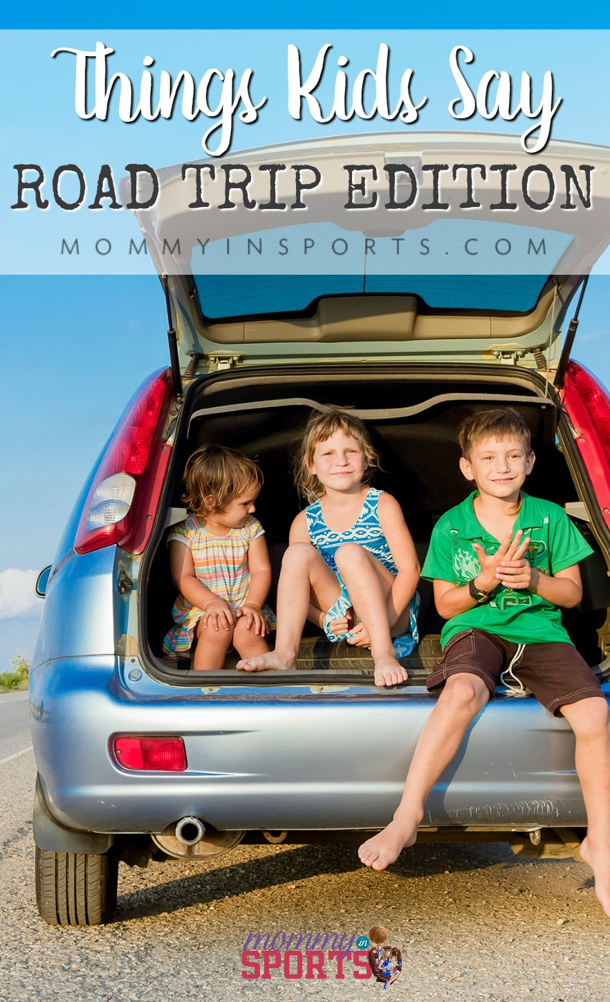 Heading out on a road trip with kids? They always make things interesting and hilarious! Check out these THINGS KIDS SAY: ROAD TRIP EDITION!
