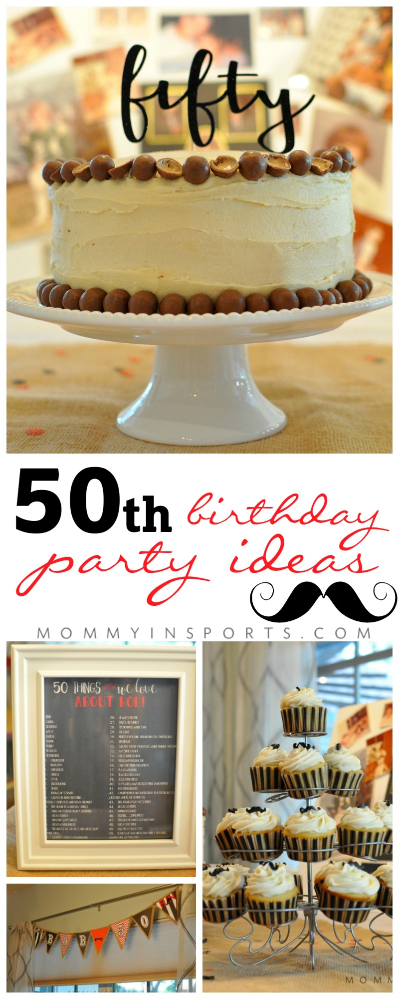 Throwing A 50th Birthday Party And Not Sure Where To Start Keep It Simple With