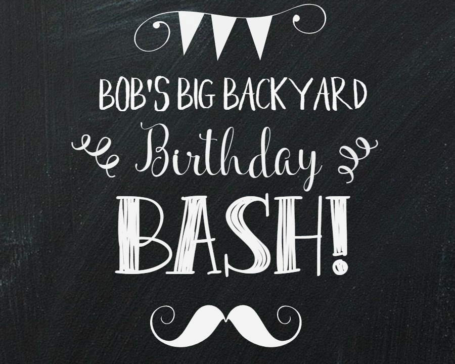 Throwing a 50th birthday party and not sure where to start? Keep it simple with a backyard soiree and show him how much you love him! You will at least be inspired with some new and creative ideas!