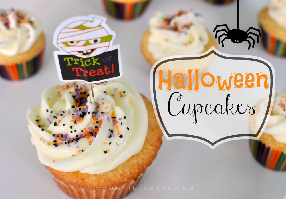 Halloween Cupcakes GFX
