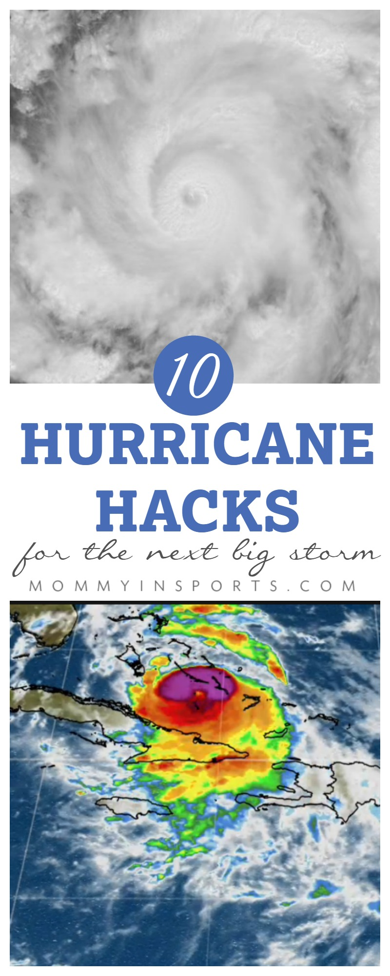 Hurricane blowing into town? Read what seasoned hurricane veterans do to prepare for the big storm. These 10 hurricane hacks will make surviving power outages more comfortable.