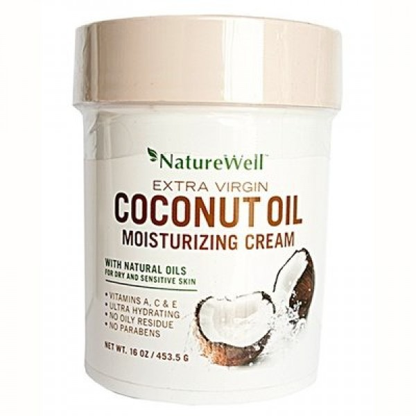 Nature Well Coconut Oil Cream