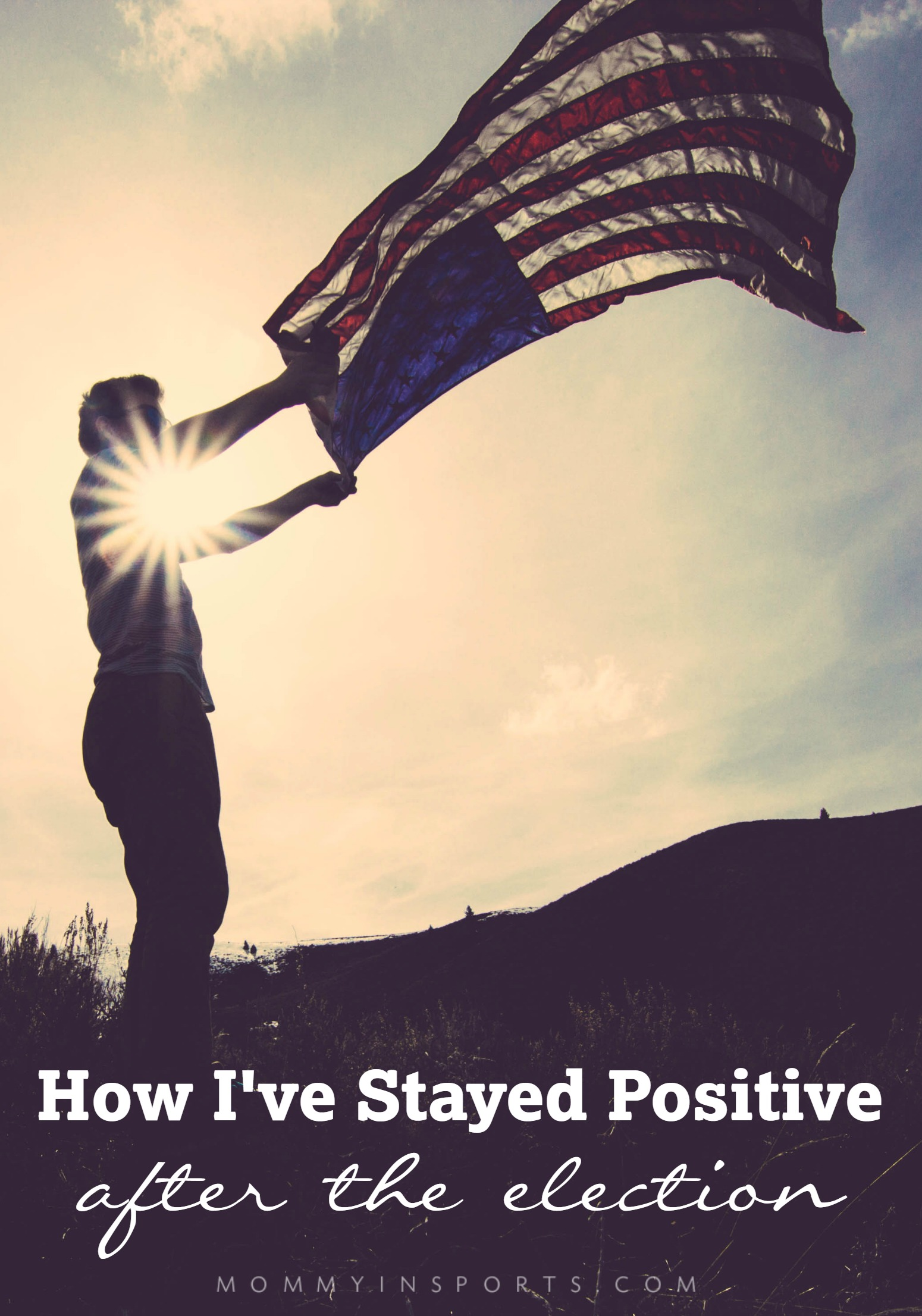 Sometimes life and our emotions can become overwhelming. Here are some strategies to help stay positive after the election.