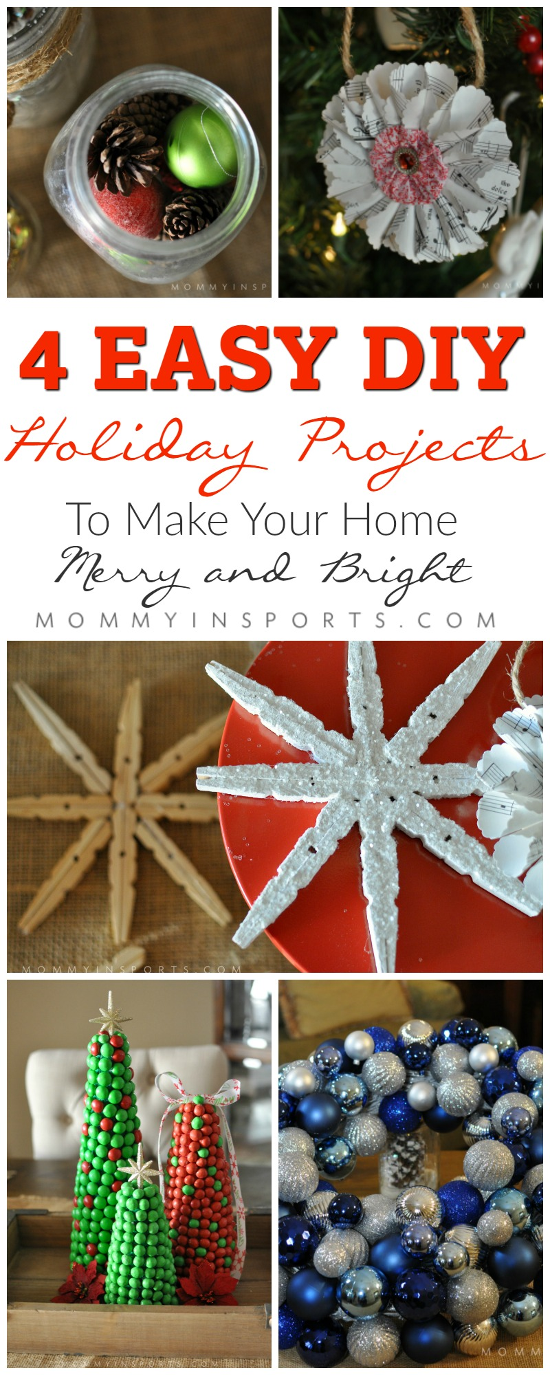 Make Your Home Merry Bright With These 4 Easy Diy Projects Kristen Hewitt,Small Apartment Bedroom Layout