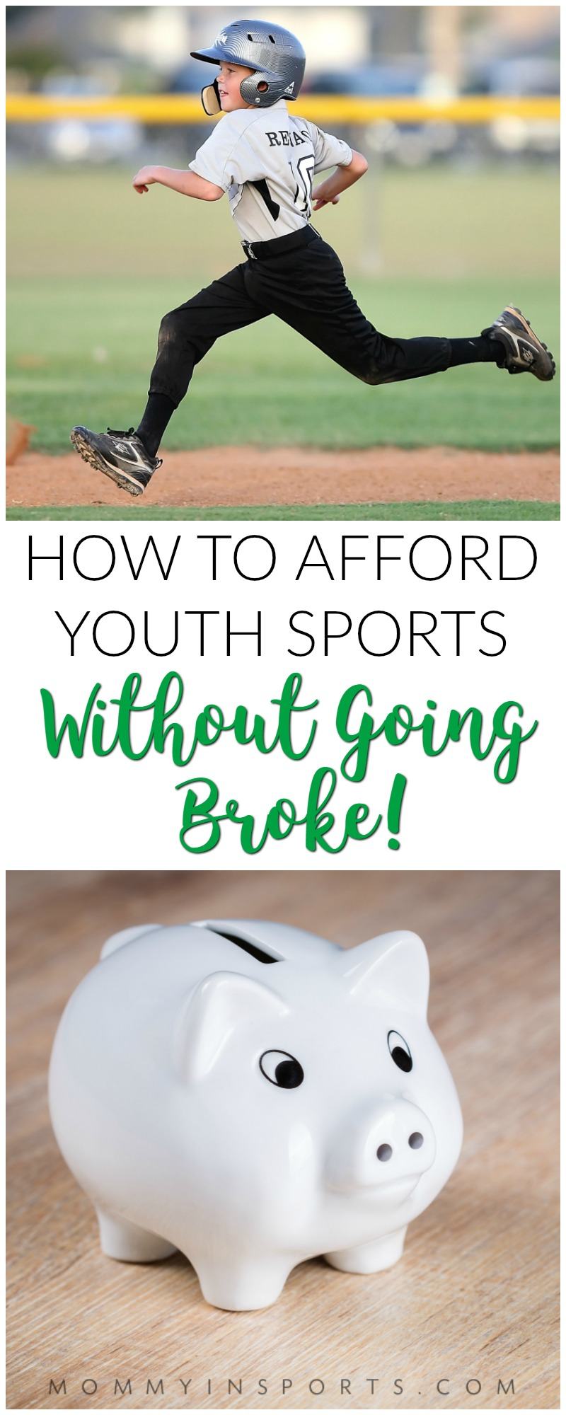 Do you struggle with the high costs of youth sports, plus all the equipment and clothing needed? Check out these tips to help families afford sports!