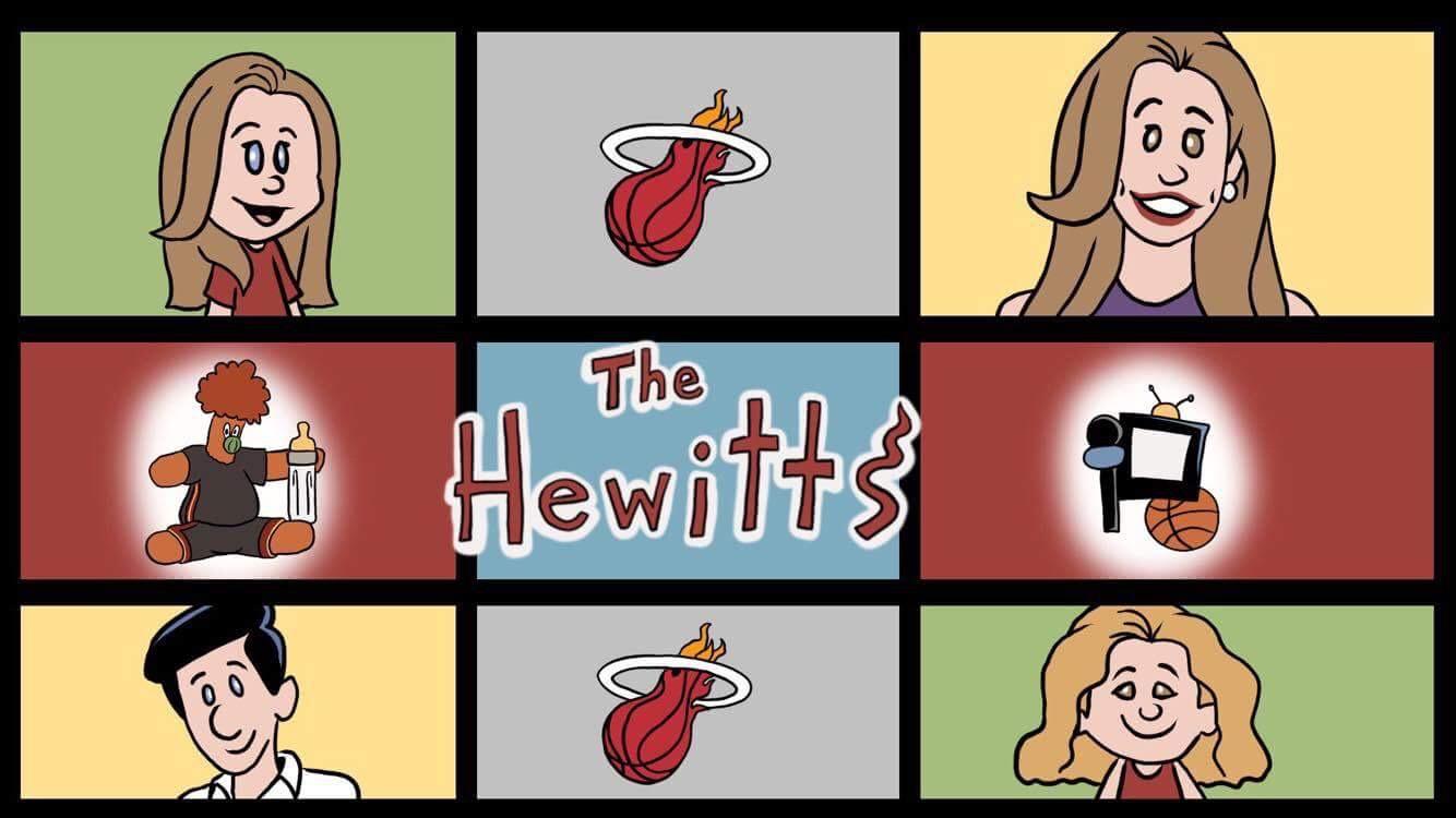 Hewitt Family on Fox Sports Kids Day