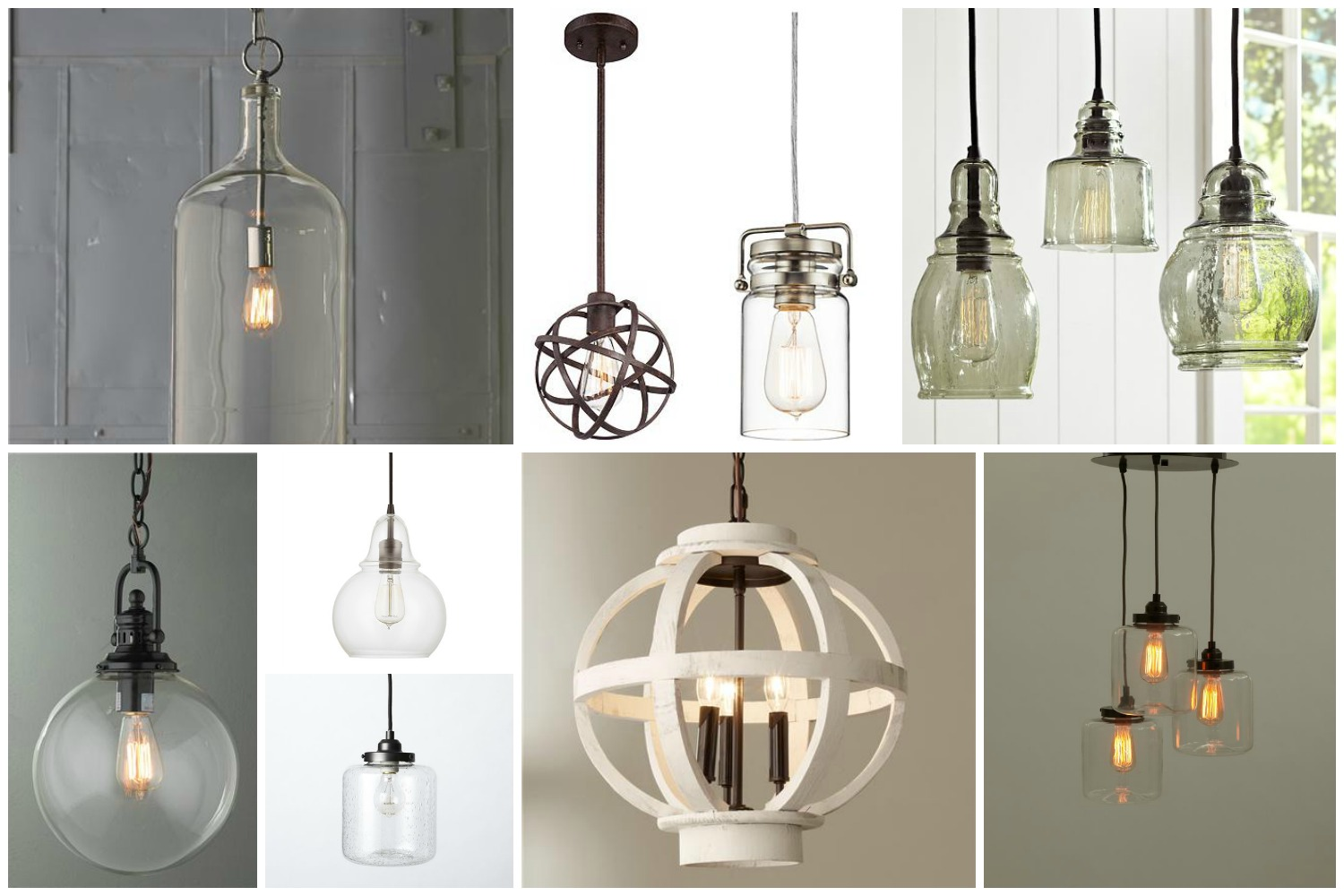on sale 65f88 8821f Fixer Upper Inspired Modern Farmhouse Kitchen Lights ...