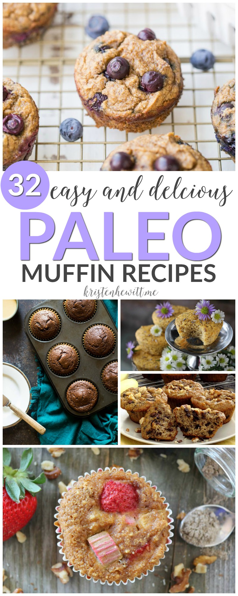 Looking for a snack that's healthy and filling? Try one of these 32 DELISH paleo muffins! So easy to whip up and freeze for later.