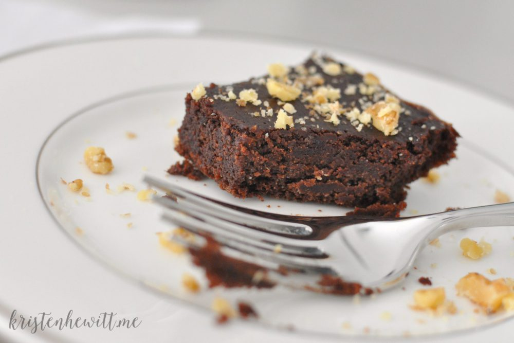 Easy Paleo Fudge Brownies