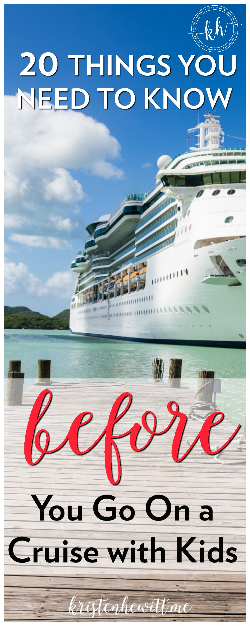 Heading on a cruise with kids? Read this FIRST! 20 things you NEED to know BEFORE you go on a cruise with kids! These travel hacks will save you!