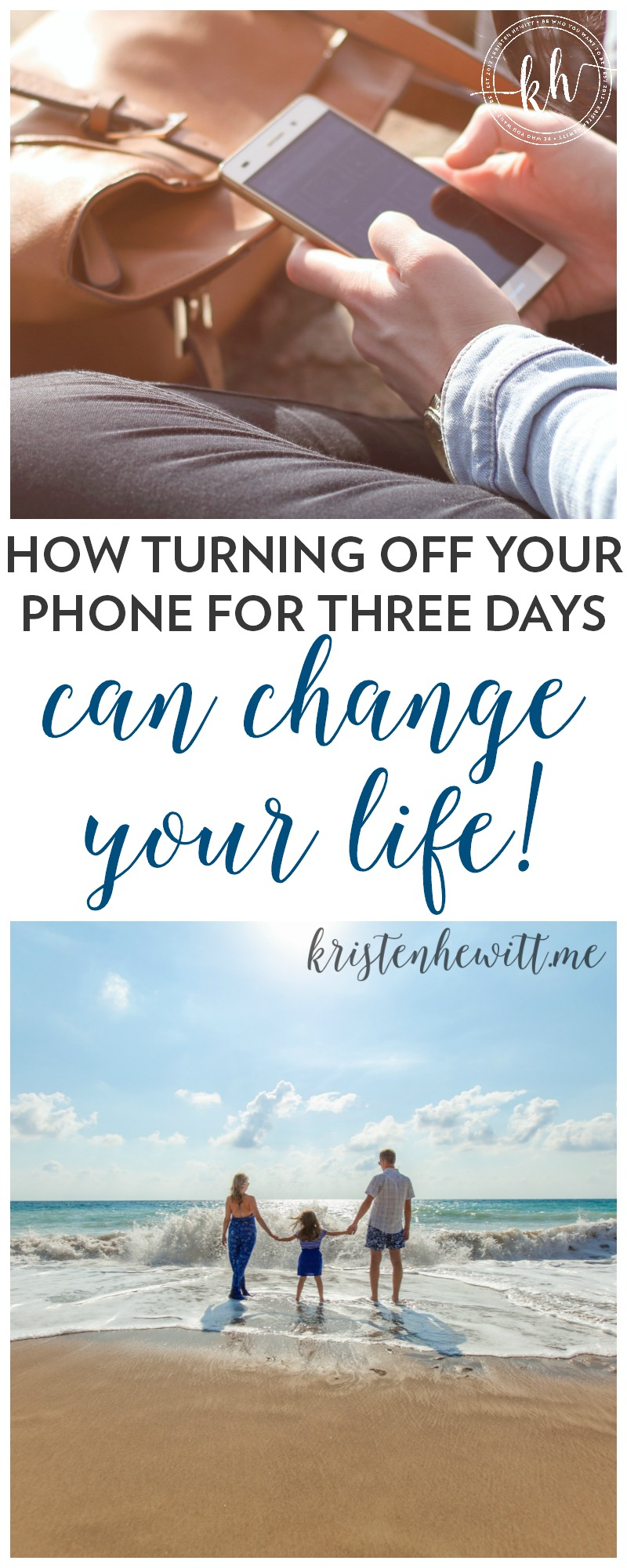 Have you ever REALLY taken a social media timeout? Turned off your phone and disconnected? Here's how turning off your phone for three days can change your life!