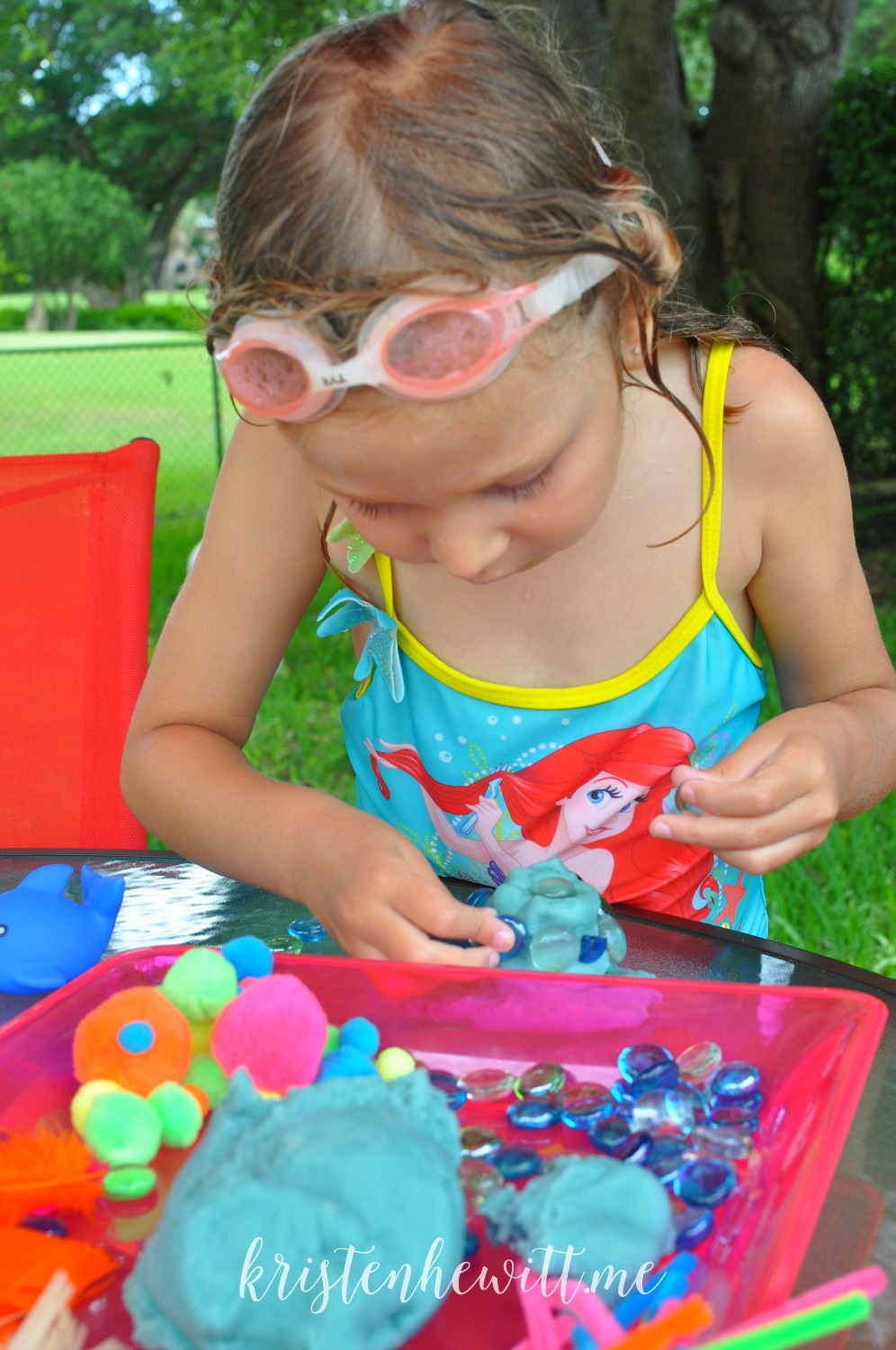 Are you looking for an easy activity for your kids this summer? Try this summer fun play dough recipe! Simple for parents and fun for kids!