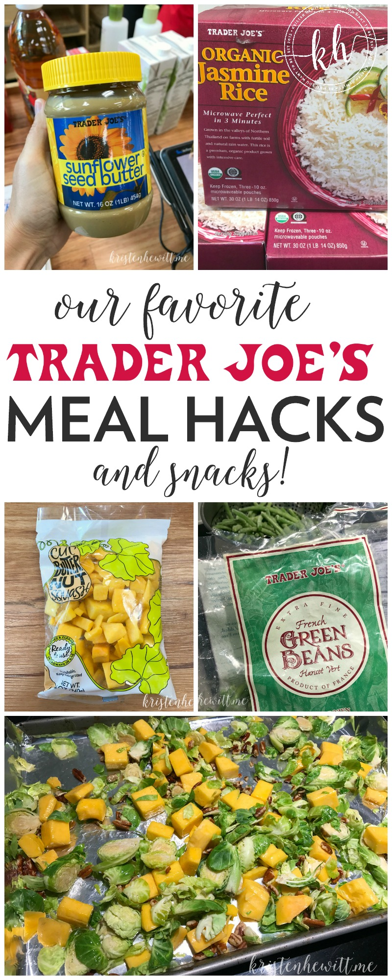 Looking for easy ways to make dinner simpler? Check out our favorite Trader Joe's meal hacks and snacks to help your busy family eat healthy again!