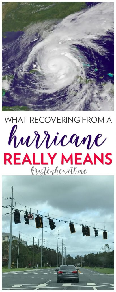 Have you been affected recently by Hurricane Irma, or watched what your friends and family are living through? Here's what it's really like to recover.