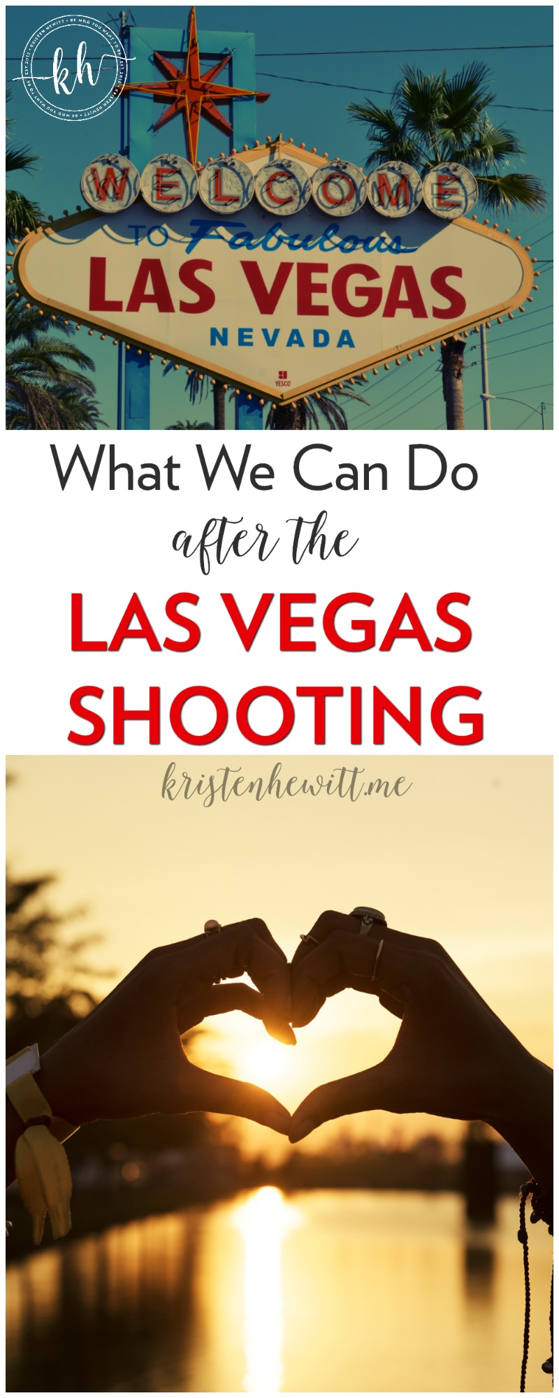 It happened again, this time a shooting in Las Vegas. But what can we do? This. Here's what we can do after the Las Vegas Shooting.