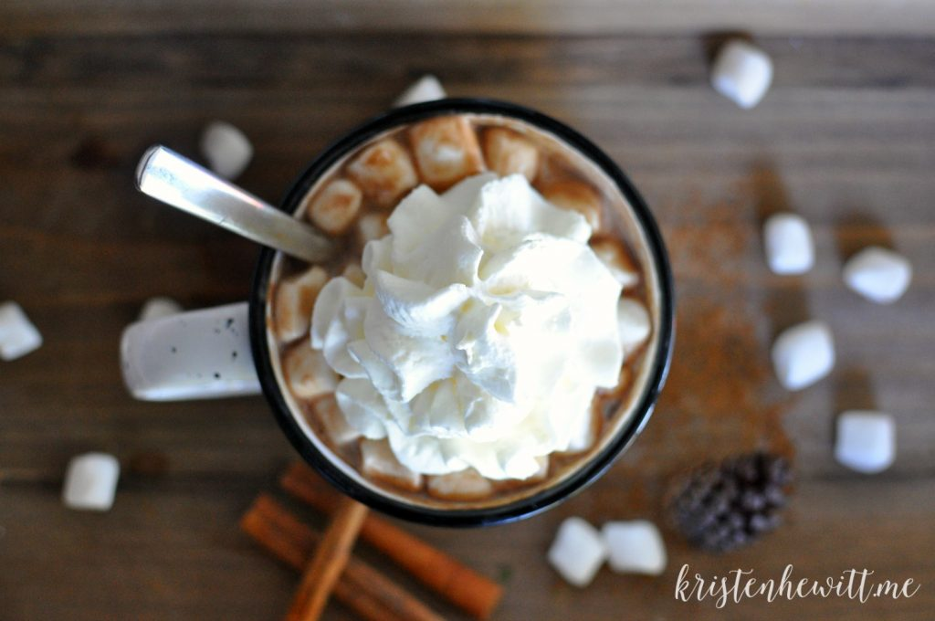 When the weather gets cold the first thing you need is a warm mug of this DELISH and simple paleo hot chocolate! Get the recipe here.