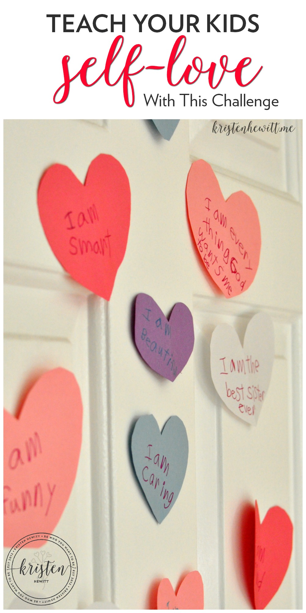 Do you want to inspire self-love into your kids and maybe yourself as well? Take the February self-love challenge and inspire yourself and your family.