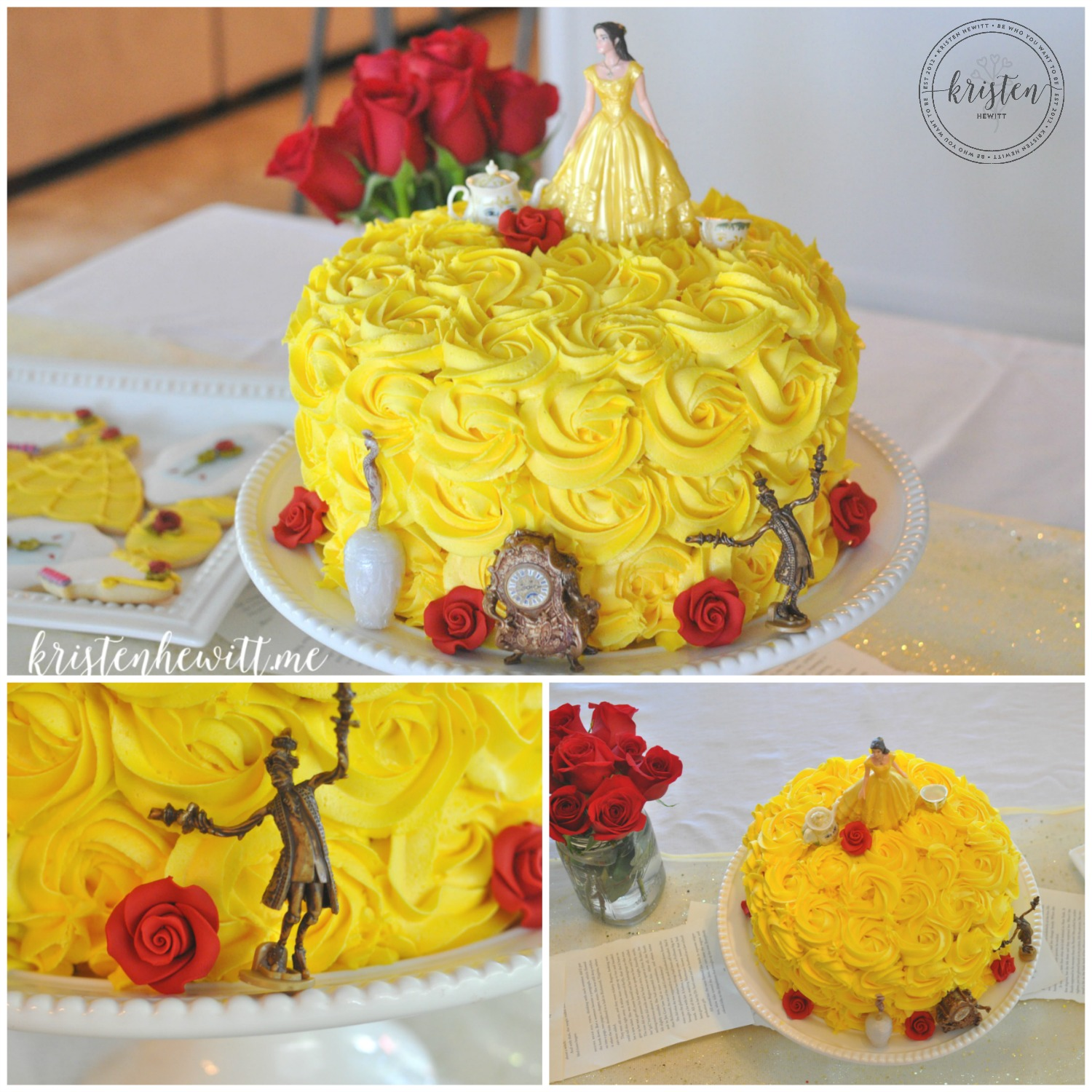 Beauty And The Beast Birthday Party Ideas Kristen Hewitt