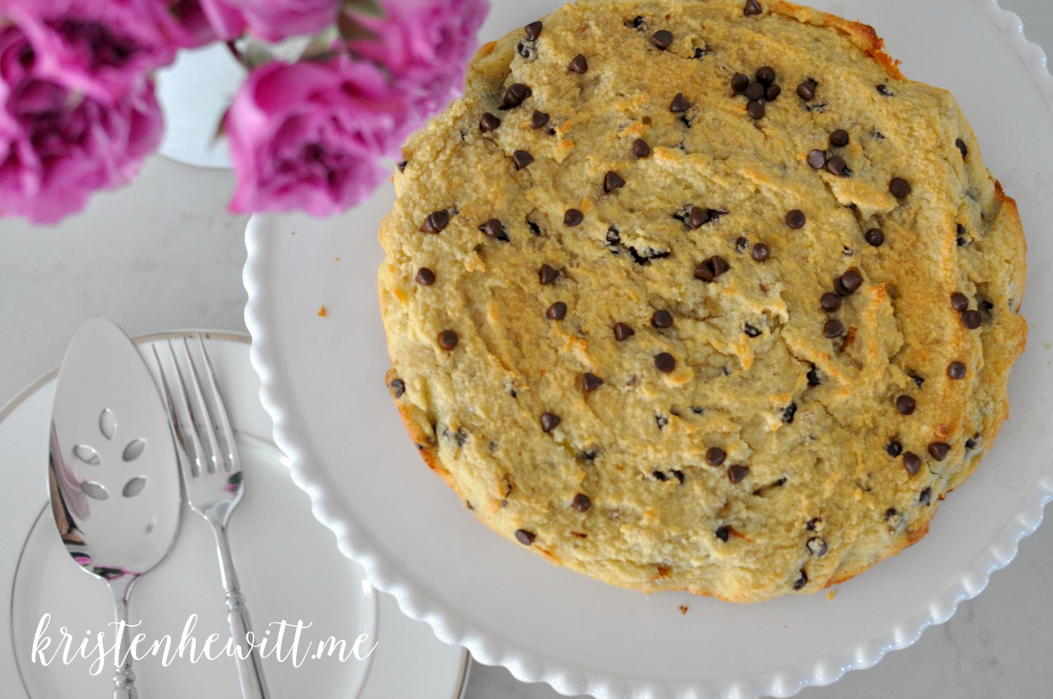 Paleo Banana and Chocolate Chip Scones