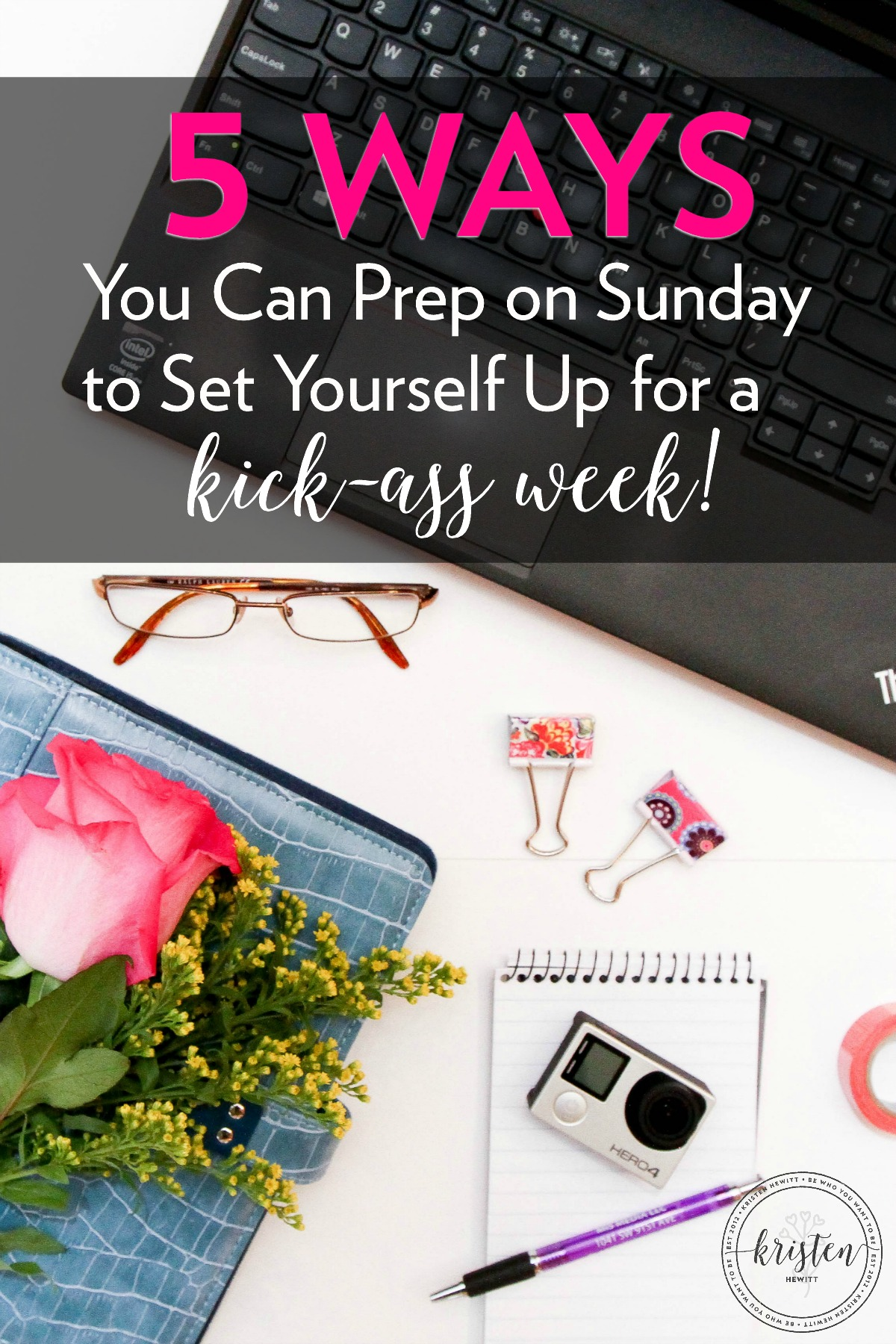Do you find yourself lost and sometimes overwhelmed during the week trying to manage work, life, kids, and all the responsibilities at home? I did too until I started doing these things every Sunday. Try it and see if it helps you too!