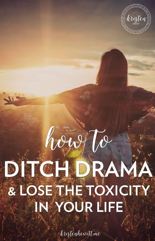 Are you tired of drama filled days at work or toxic relationships? Perhaps burned out online? Here's how to release the drama in your life!