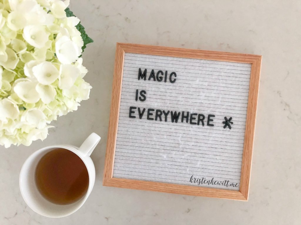 Life can be so hard, especially with kids. But when we look hard enough we can find that magic is everywhere.